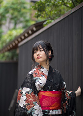 Youn woman in Yukata walking in traditional Japanese narrow path (Apricot Cafe) Tags: img47948 asia asianandindianethnicities canonef85mmf18usm healthylifestyle japan japaneseethnicity kagurazaka kimono tokyojapan beautifulwoman blackhair candid carefree charming cheerful colorimage copyspace day enjoyment fashion greencolor happiness independent leaning leisureactivity lifestyles longhair lookingaway nature notlookingatcamera oneperson oneyoungwomanonly onlyjapanese outdoors people photography realpeople relaxation restaurant smiling summer sustainablelifestyle traditionalclothing travel vacations waistup walking wall women youngadult yukata