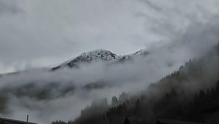 Schnee in Tirol am 26. August 2018