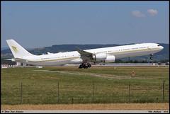 AIRBUS A340 642ACJ SkyPrime Aviation HZ-SKY 924 Bale Mulhouse juin 2018 (paulschaller67) Tags: airbus a340 642acj skyprime aviation hzsky 924 bale mulhouse juin 2018