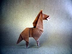 Horse - Katsuhisa Yamada (Rui.Roda) Tags: origami papiroflexia papierfalten cavalo caballo cheval horse katsuhisa yamada