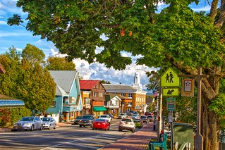 Lake Placid  New York  - Downtown Main Street - Historic