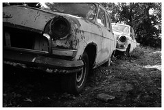 Cars (petr.skuta) Tags: soviet ussr moskvich film 35mm analogue auto car rodinal r09 rollei35t 35t rollei