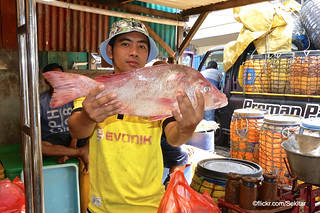 Fish market, Arab Quarter Surabaya
