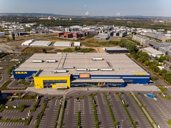 Aerial photo of an IKEA store and parking lot (marcoverch) Tags: köln barcamp cologne deutschland mavicair dji travel barcampcologne luftbildaufnahme luftaufnahme qsc digitalnomad aerial aerialphotography barcampkoeln nordrheinwestfalen de aerialphoto ikea store parkinglot city stadt noperson keineperson vehicle fahrzeug daylight tageslicht reise road strase championship meisterschaft landscape landschaft competition wettbewerb building gebäude water wasser transportationsystem transportsystem track spur industry industrie seashore strand modern architecture diearchitektur outdoors drausen cityscape stadtbild urban städtisch auto streetart airplane pentax nikkor eau outside analog holiday