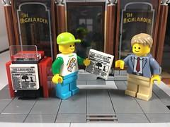 2018-247 - Newspaper Carrier Day (Steve Schar) Tags: minifigures minifigure lego newspapercarrierday newspapers newspaper legotravelbuddy project365 iphone6s iphone sunprairie wisconsin 2018