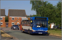 Stagecoach 35185 (Lotsapix) Tags: stagecoach midlands buses bus dennis dart plaxton pointer 35185 northamptonshire kx56kgy