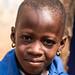 Children at Bante, Benin, near the border with Togo.