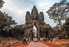 Welcome to Angkor Thom (TheViewDeck) Tags: cambodia siemreap asia khmer temples angkor thom ruins