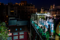 Madrid from the Top (jchmfoto.com) Tags: roof urbanphotography madrid spain europe night street calle españa europa evening fotografíaurbana nighttime noche techo tejado urban urbanscape es