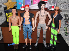 👬Garotos quentes 💪 (FranBoy Monteiro) Tags: doll dolls toy toys boneco bonecos boneca bonecas cute pretty beauty love amor fashion fashionista fashionistas moda outfit clothes look model models gay gayguy guy boy fun diversão cool handsome awesome barbie ken integrity integritytoys kyu prince dynamitegirls