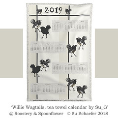 2019 'Willie Wagtails, tea towel calendar by Su_G': mockup (Su_G) Tags: sug 2018 williewagtail bird animal australiana australianwildlife australianbird australia australian teatowel cutandsew calendar 2019teatowelcalendar teatowelcalendar 2019 gift spoonflower spoonflowercontest spoonflowerdesignchallenge roostery roosteryfqteatowel homedecor softfurnishing kitchen neutral