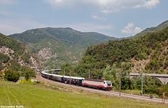 Il VSOE sui Giovi (Alessandro Ruelé) Tags: e402b138 e402b vsoe venicesimplonorientexpress treno ferrovia luxurytrain giovi train orientexpress