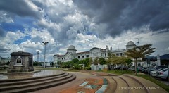 You will hear of wars and rumors of wars, but see to it that you are not alarmed. Such things must happen, but the end is still to come. (J316) Tags: j316 war ww1 ww2 ipoh malaysia perak ipohrailwaystation 10mm tamron sony a77 dpsc clouds weather tropical sky blue whitewash collonialmalaya britishmalaya
