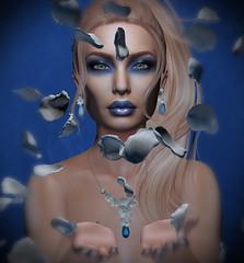 Blue Ice (Victoria Konnor James) Tags: amitieposes aviglam catwa doux heartsdalejewellery insol izzies maitreya persefona spoonfulofsugarfestival zibska