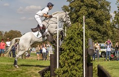 Harry Meade on Away Cruising - Burghley Horse Trials 2018 (sho5572) Tags: cheval international 4 xc crosscountry landroverburghleyhorsetrials outdoors outdoor equestrianphotographer equine sportsphotographer sportsphotography lrbht lincolnshire stamford jumping jump motion action sporthorse sport september 2018 burghleyhorsetrials harrymeade rider horse