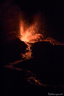Eruption du 16 septembre-piton de la fournaise