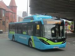 Arriva North West 7000 LJ67DLX Liverpool ONE Bus Stn on 26 (1) (1280x960) (dearingbuspix) Tags: arriva arrivanorthwest greentechnology lj67dlx 7000