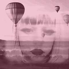 innocent dreams (flying machines) (madalina bita) Tags: balloons landscape mindscapes surrealism far off land dreams innocence self portrait flying machines madalinabitaimages madalinabitapictures
