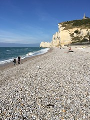 La Mer (schreibtnix on 'n off) Tags: reisen travelling frankreich france étretat landschaft landscape strand beach lamer appleiphone6plus schreibtnix