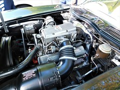DSCN0836, Old Rochester Fuel Injection system on a 60s Corvette, Sept 2018 (a59rambler) Tags: cars technology