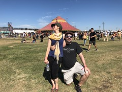 Me and my Bro (tiny red warrior) Tags: family brother lagunitasbeercircus festival beerfestival petaluma circus