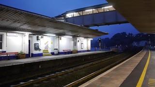 Royal Duchy returning through Dawlish station