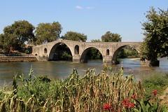 The Bridge in Arta (demeeschter) Tags: greece arta city town building street shop river bridge archaeology church heritage historical byzantine