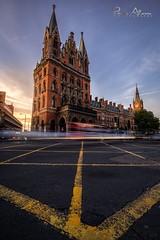 Passageway (Perez Alonso Photography) Tags: london station landscape architecture londres kingcross stpancras