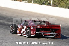 LOMS-Orange-042 (PacificFreelanceMotorsports) Tags: loms speedway racing modifieds lucasoil