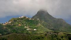 Into the Clouds / En las Nubes (López Pablo) Tags: anaga tenerife canary islands spain cloud hill green house road nikon d7200