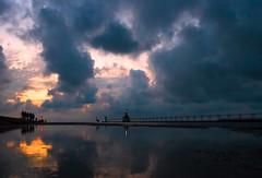 Lake Michigan Lemmings (bill.d) Tags: lakemichigan michigan silverbeachcountypark stjoseph us unitedstates beach evening lake lighthouse summer sunset water