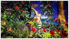 SPLASH - 50,000L Entry #2 - Tlaloc Beresford (frankieedon) Tags: second life adam eve apple snake nude naked story original sin splash beach garden eden