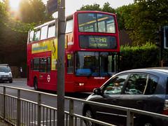 VP617 ROAD (tomashutchinson1) Tags: metroline vp vp616 vp617 vp618 vp619 vp620 vp621 vp622 vp623 vp624 vp625 vp626 vp627 vp628 stanmore station jubilee london big red bus sovereign harrow west ealing hayes tube tfl h12 h11 h13 h14 h9 h10 travel double decker single