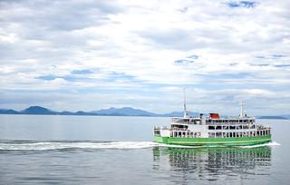 Kumamoto-Shimabara Ferry, Kyushu, Japan