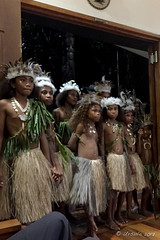 Young Milne Bay Dancers 8761 (Ursula in Aus (Resting - Away)) Tags: jimclinephototour milnebay png papuanewguinea tawali iphone iphone6