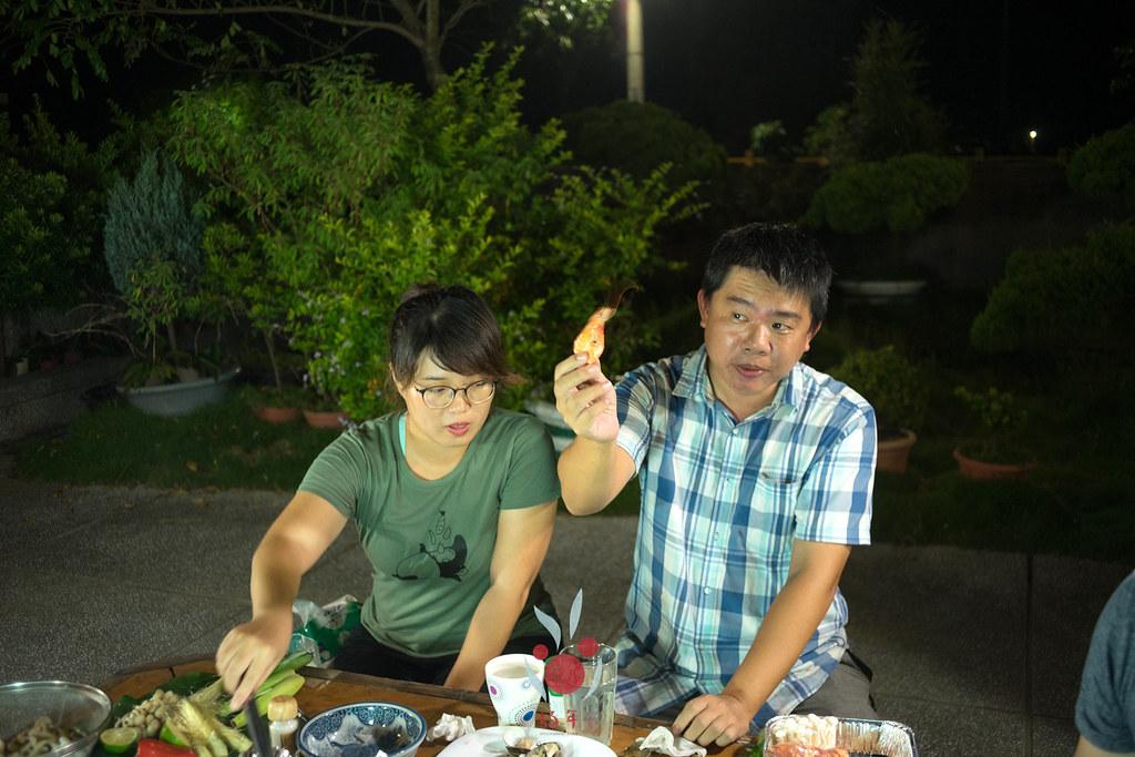最奢華的中秋烤肉組 海鮮大集合之 龍膽石斑、泰國蝦、蚵、大卷 |小農聯盟24