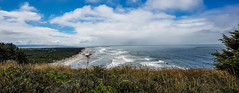 the beginning of Long Beach (Udo S) Tags: longbeach ocean meer coast küste clouds wolken washingtonstate usa amerika urlaub vacation