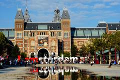 Rijksmuseum Amsterdam (Kallu Medeiros) Tags: kallumedeiros minolta md lens sonya6000 sonyalphaa6000 sony amsterdam holland nederland summer 2018 holanda 135mm 35 f35 135 13535 rijksmuseum iamsterdam museumplein