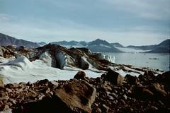 Fundort Stein Nordostgrönland*Source Rock Northeast Greenland (BrigitteE1) Tags: grönland greenland landschaft landscape gletscher glacier northeastgreenland nordostgrönland analogfoto analoguephoto