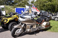 Honda GL 1500 - Alford Aberdeenshire Scotland - 9/9/18 (DanoAberdeen) Tags: hondagl1500 vintage classic alford grampiantransportmuseum museum racers scooters triumph bmw vincent bikers biker motorcycle gala fair show festival 2018 candid amateur danoaberdeen aberdeenshire motorbike suzuki kawasaki rare new restoration customised scotland scotch scottish 2bike davidson aprilla enfield norton victory sporster motorcyclist triples tt f1 bike convention oldtimer honda bsa ducati harley geotagged badge logo motto championship racer racing streetbike offroad autumn winter summer spring bikerlife superbike motography transport goldwing gathering gtm scooter moped trike reunion