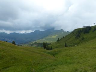 View towards Spirstock