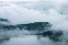 The Effect of Temperature Inversion (Vladimir Grablev) Tags: appalachian cloudinversion shenandoah blueridge virginia dreamy inversion nationalpark temperature landscape fog mountains temperatureinversion piedmont clouds