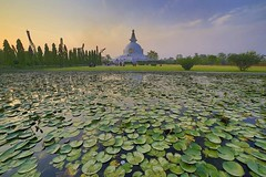 UNESCO WORLD HERITAGE SITES OF NEPAL. (ujjal.maharjan) Tags: buddha peace nepal lake landscape spiritual hope stupa monastery meditation