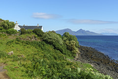 Cottage (rcoulstock) Tags: gallanach isleofmuck isleofrum muck rum isle island scotland hebrides innerhebrides highlands blue landscape remote rural sea water