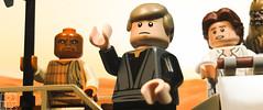 SKYWALKER'S PLAN (kyle.jannin) Tags: lego legostarwars starwars return jedi episode vi 6 lukeskywalker hansolo chewbacca tatooine