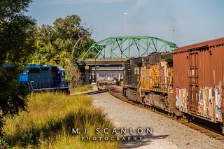 NS 8330 | GE C40-8W | CN Harrison Yard