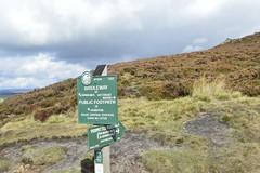 P & N F S sign above Ladybower (philept1) Tags: peak derwent sign footpath derbyshire ladybower outdoors moorland district