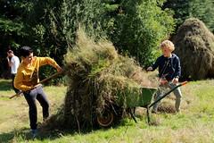 hard werken (regionaal landschap Schelde-Durme) Tags: waasmunster kinderen pdpo lia natuurbeleving hooiland speelnatuur landschap landbouw biodiversiteit samenwerken