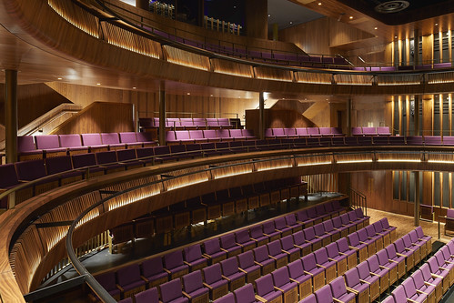The Royal Opera House's new Linbury Theatre is now open