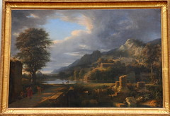 Pierre Henri de VALENCIENNES, L'Ancienne ville d'Agrigente. Paysage composé (skaradogan) Tags: canon canon40d 40d peinture painting malba olej oil art artrist artist´s painter collection wood canvas frame louvre lůvr museum musée history paris france trip tourist visit sigma 2470 noisereduction highiso sbírka pierre henri valenciennes paysage ancienne